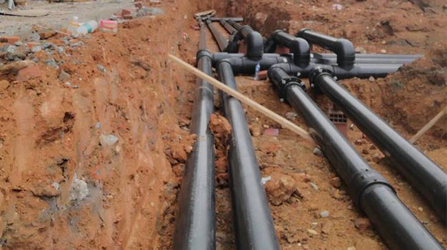 钢丝网骨架复合管安装